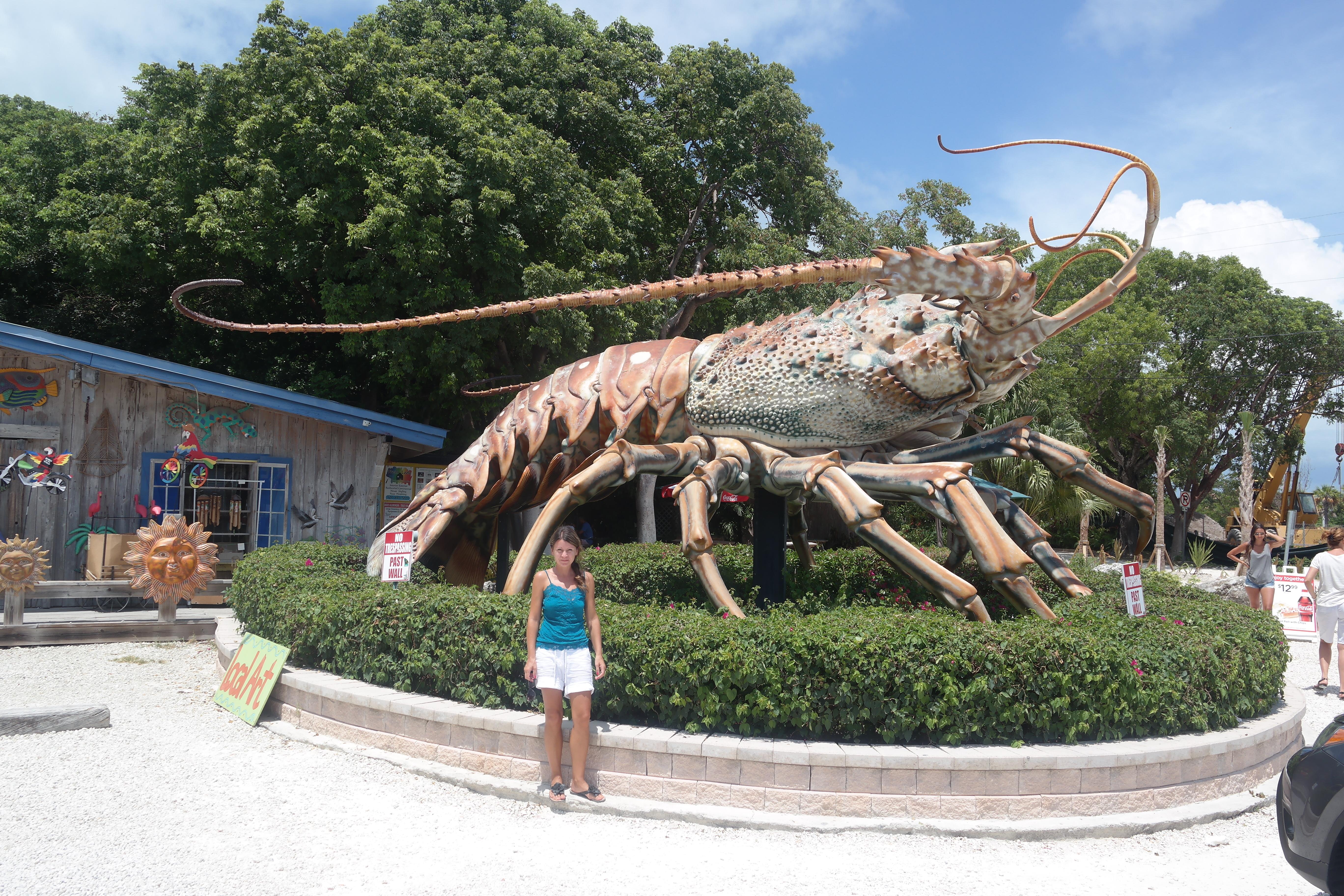 Betsy Giant Keys Lobster