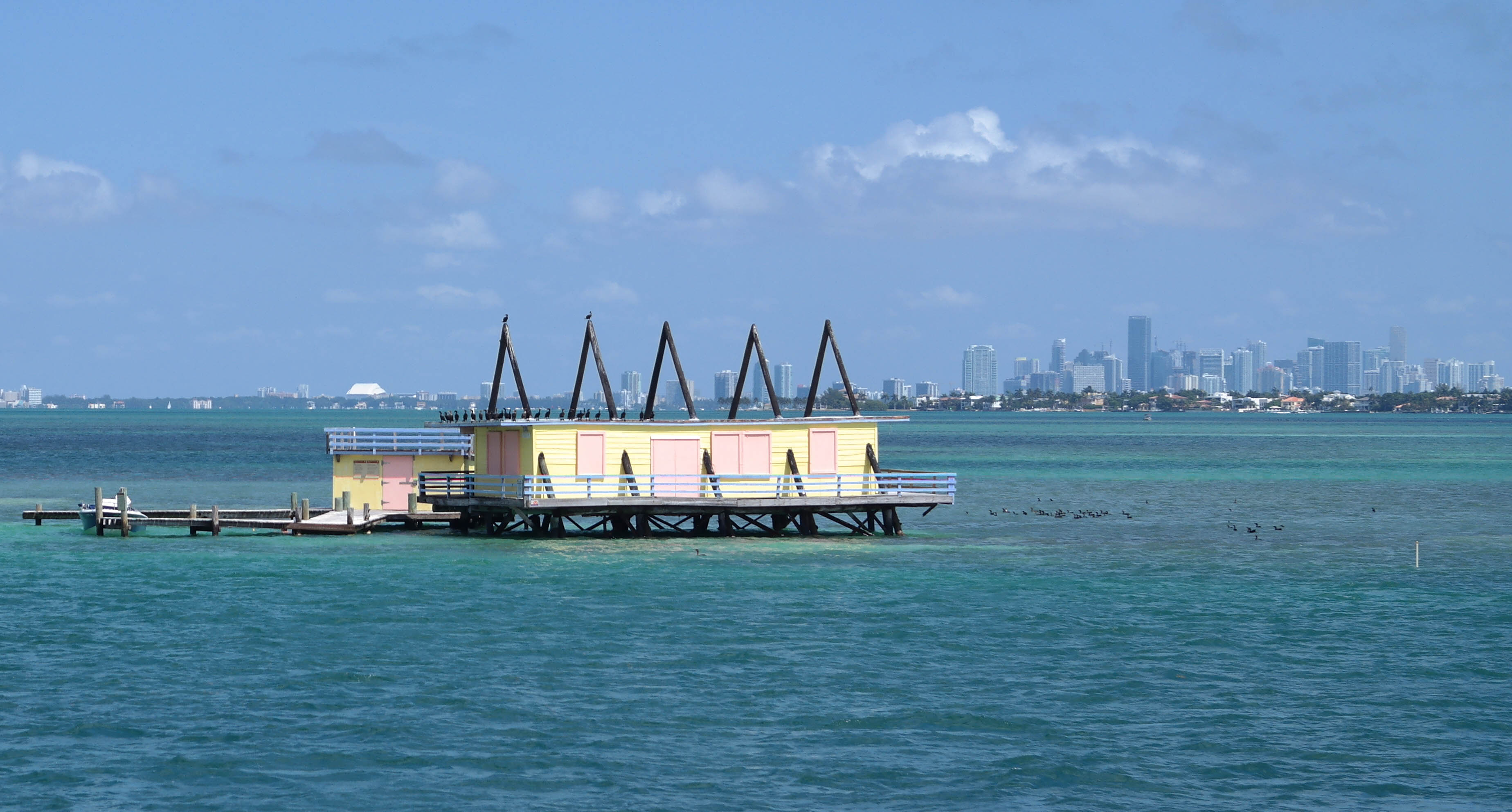 Stiltsville A Frame House
