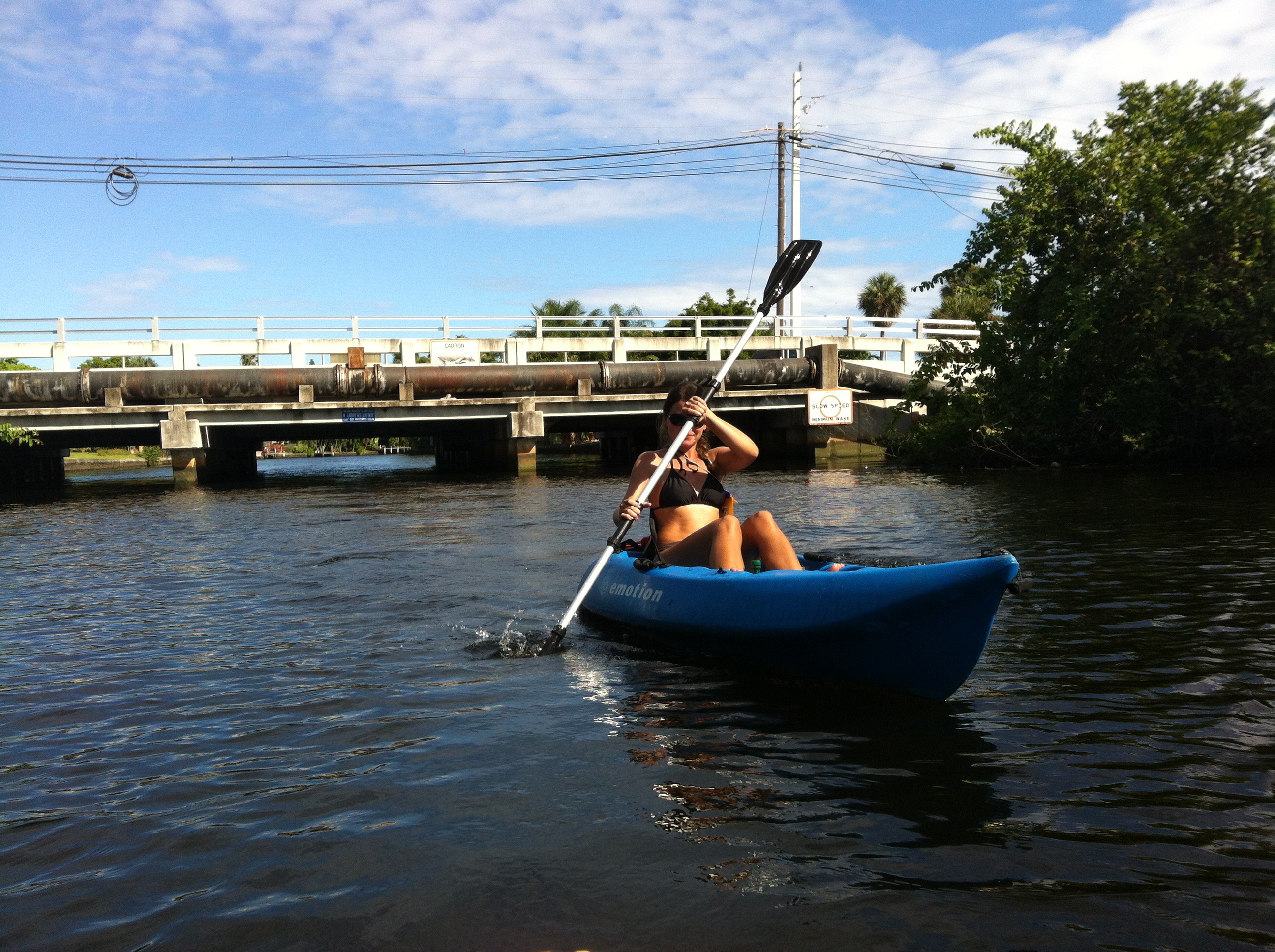 Kayaking Wilton Manors
