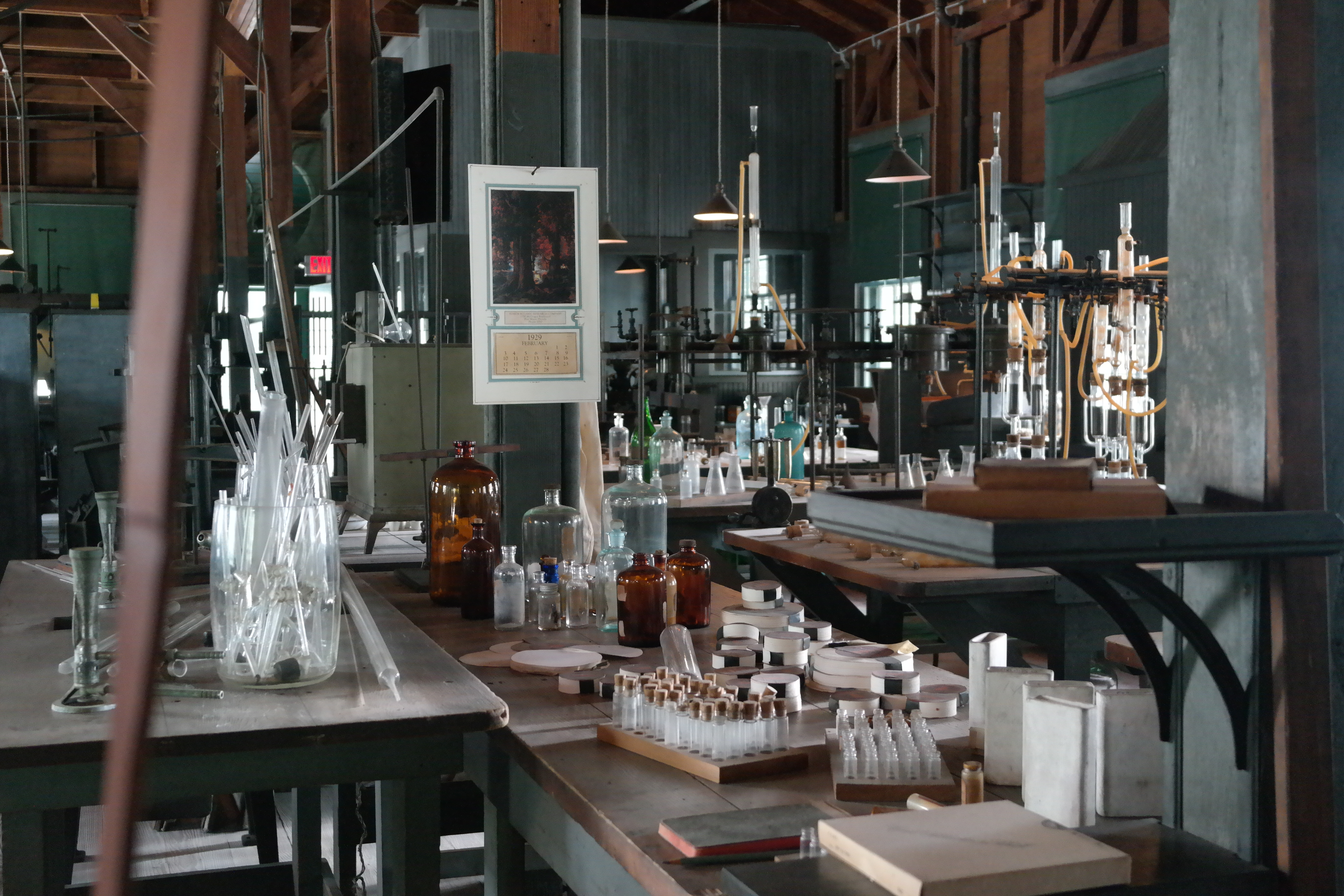 Edison's Laboratory In Fort Myers