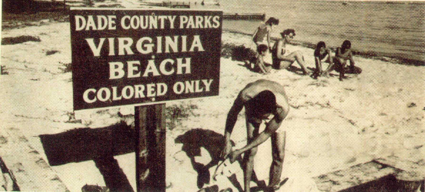 Virginia Beach Colored Only