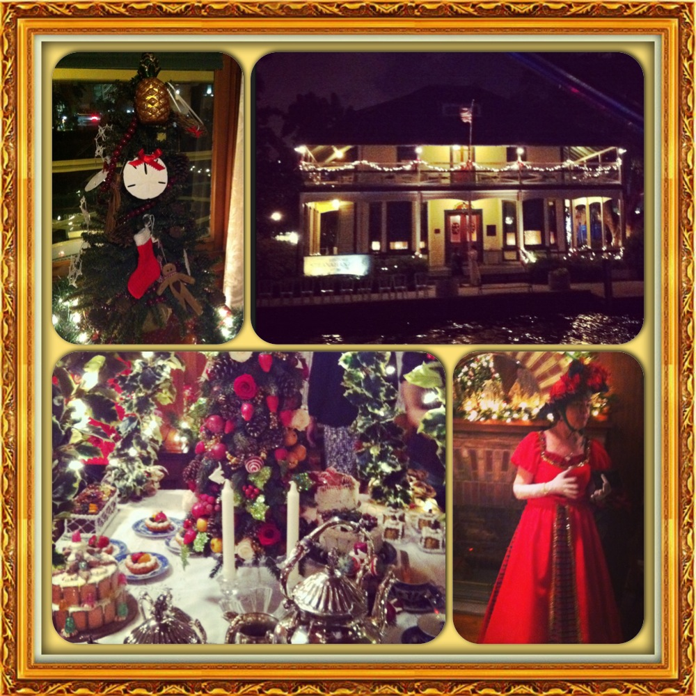 Stranahan House At Christmas