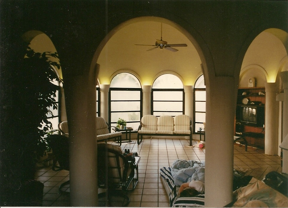 dome house interior