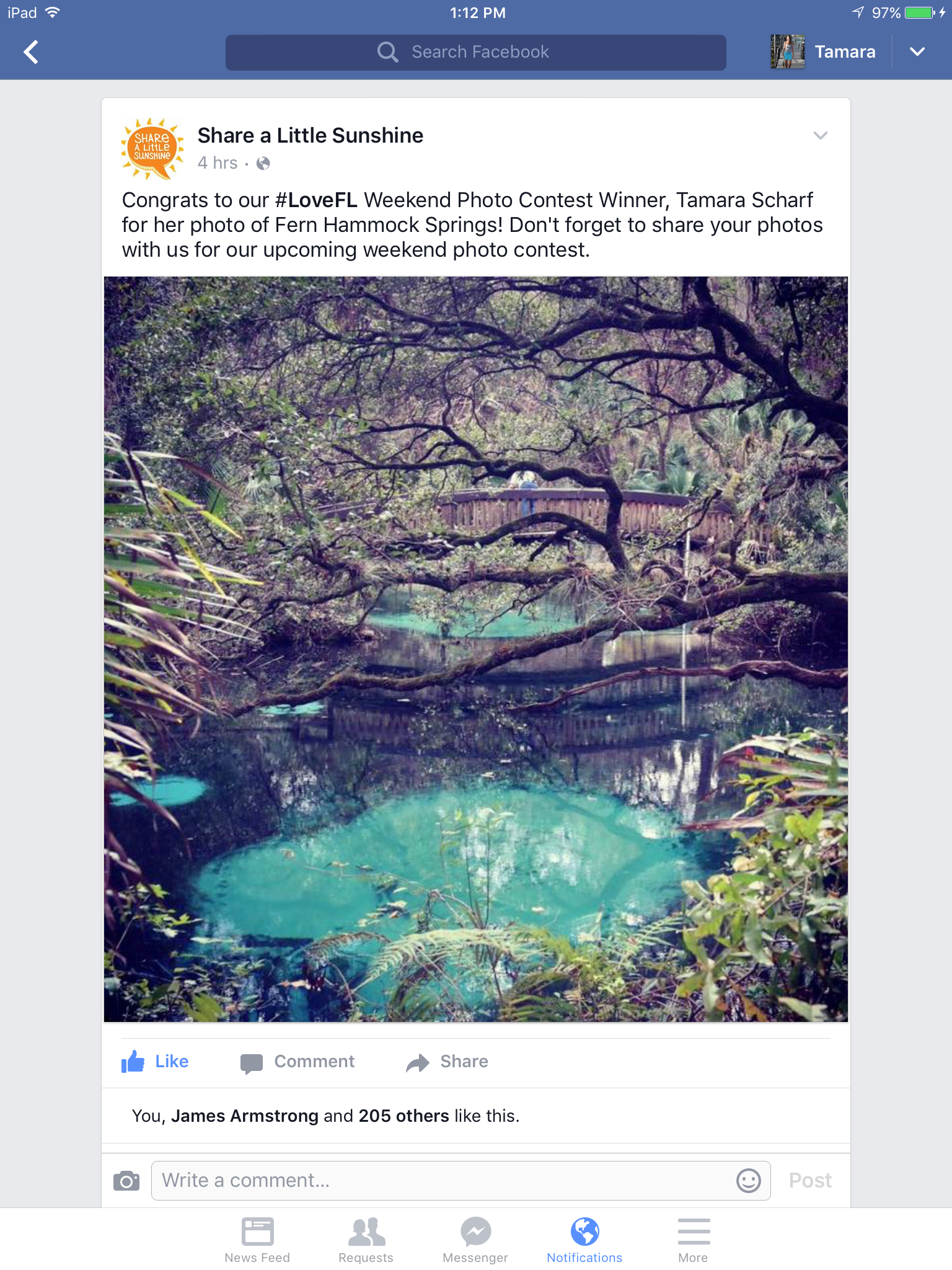 Florida Tourism Photography Winner