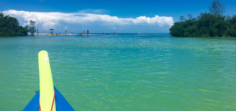 Clam Pass Kayaking